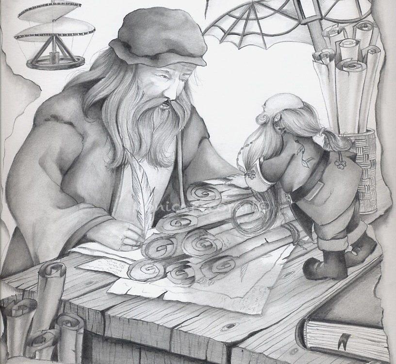 Buddy e Leonardo da Vinci