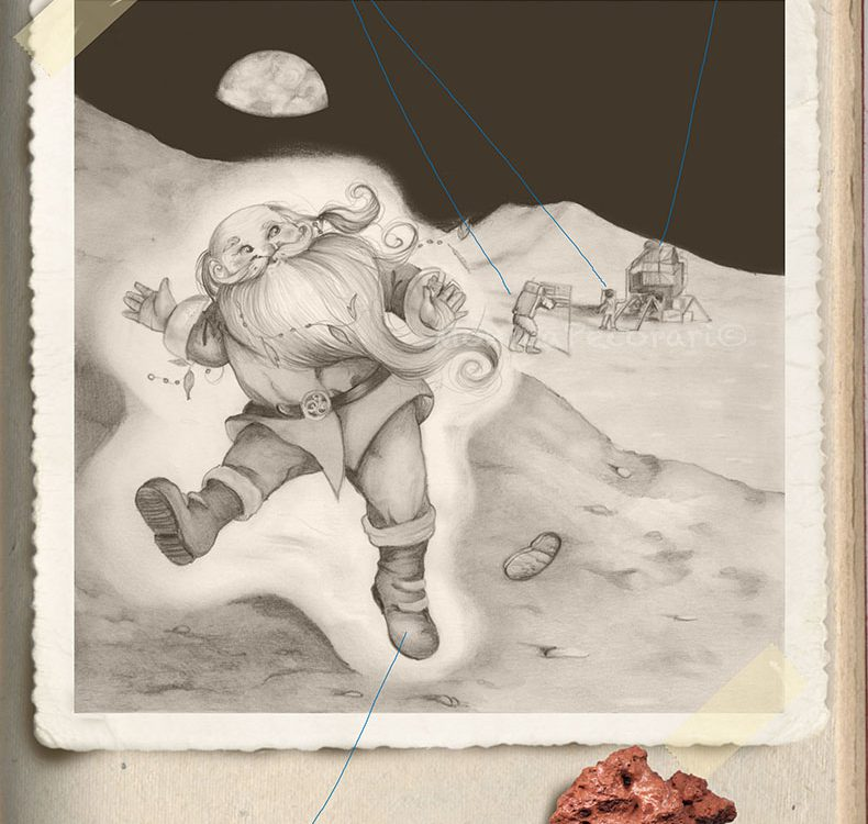Buddi sulla luna