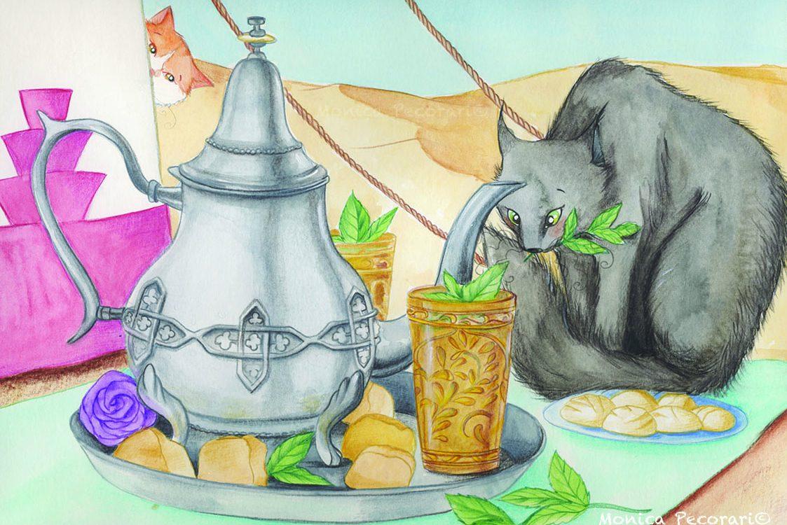 Igattimatti e la cerimoniadel tè marocchina