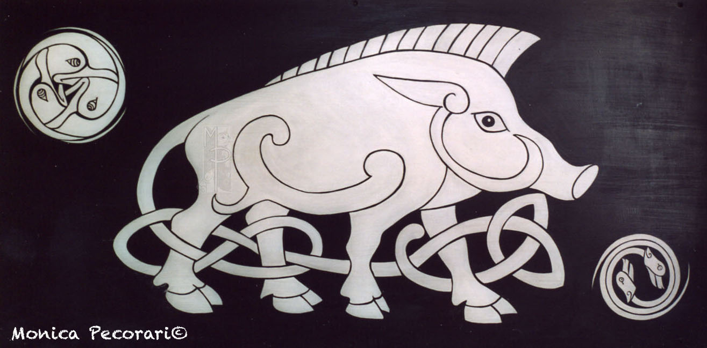 Cinghiale celtico