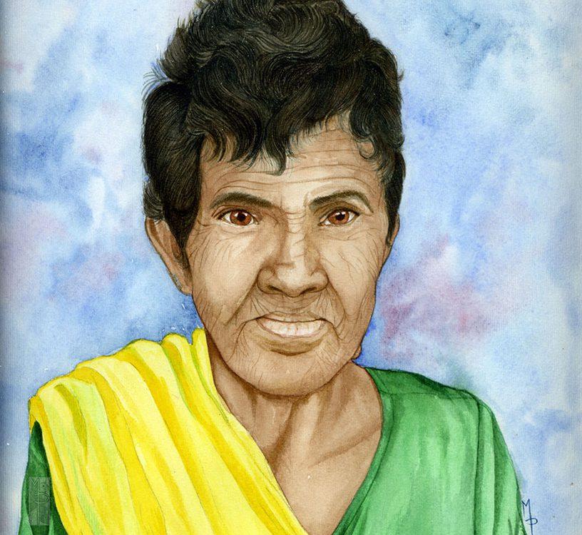 Donna indiana  hanseniana