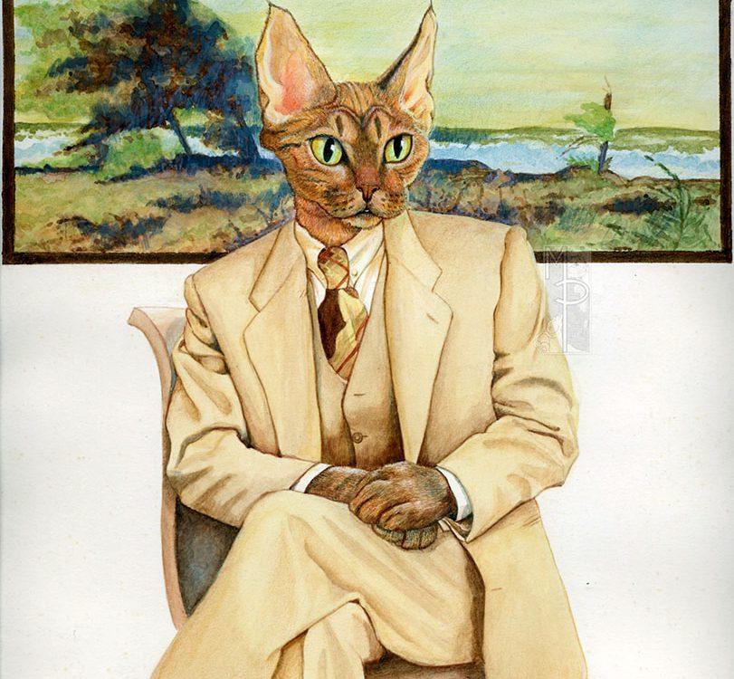 Uomo gatto