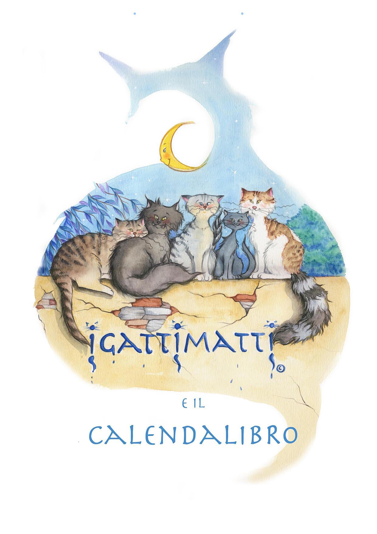 Igattimatti e il calendalibro 2013