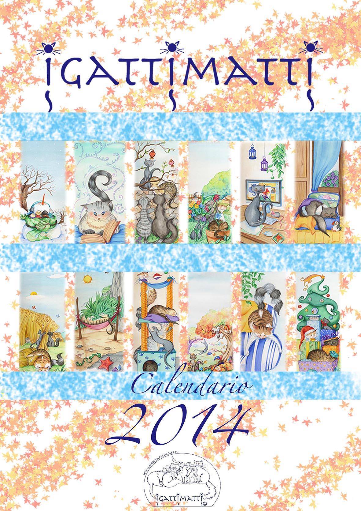 Igattimatti e il calendario 2014