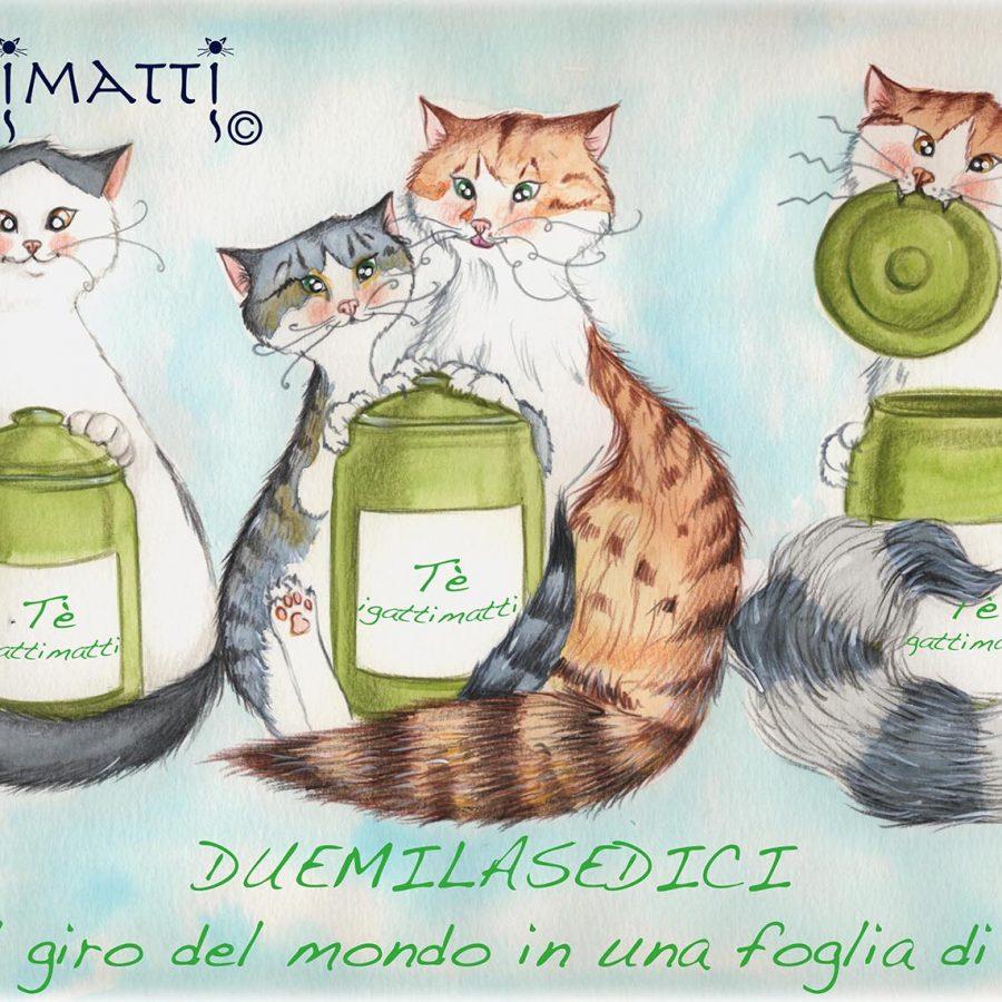 """Igattimatti 2016 """" Il giro del mondo in una foglia di tè"""""""